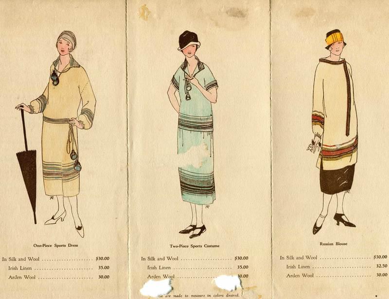Maude Rhodes Weaving Shop Brochure