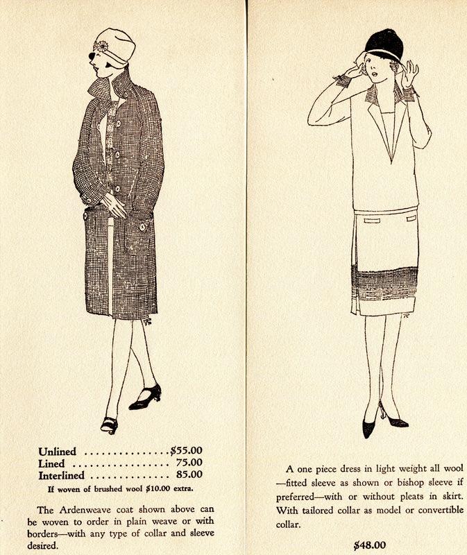 Ardenweave brochure inserts