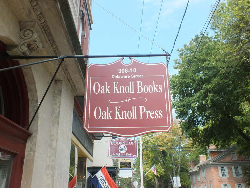 Oak Knoll Sign