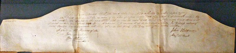 Three Hearts Tavern Deed between Alexander McBeath and John Herdman