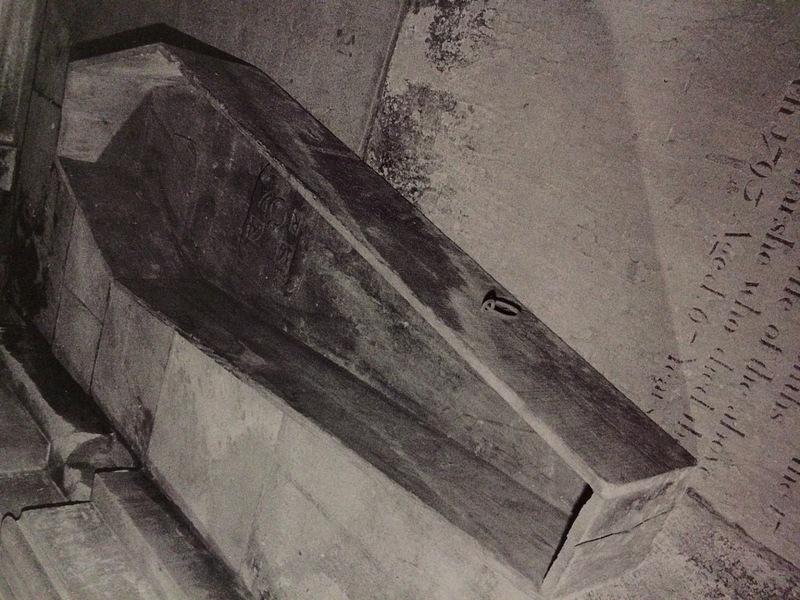 1664 Parish Coffin from Yorkshire, England