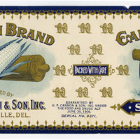 Cannon Family Papers_Folder 6_H.P. Cannon and Son labels_Cannon Brand Sugar Corn.jpg